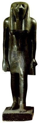 Статуя бога Хора. Около 1380 г. до н.э.