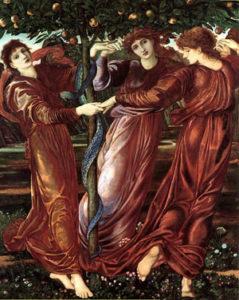 Геспериды охраняющие яблоки в саду